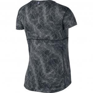 Nike T-shirt Dry Miler Running Top  Woman