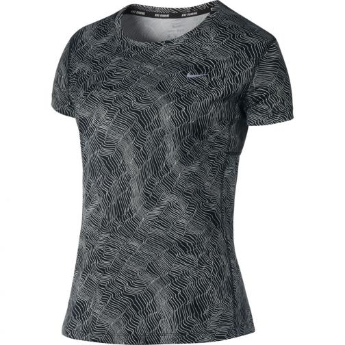 Nike T-shirt Dry Miler Running Top  Femmes Black