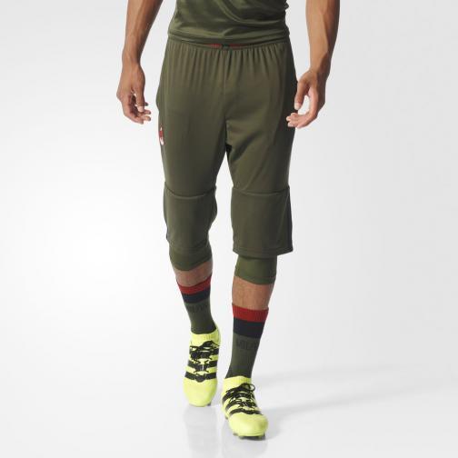 Adidas Pantaloncino  Milan   16/17 Verde