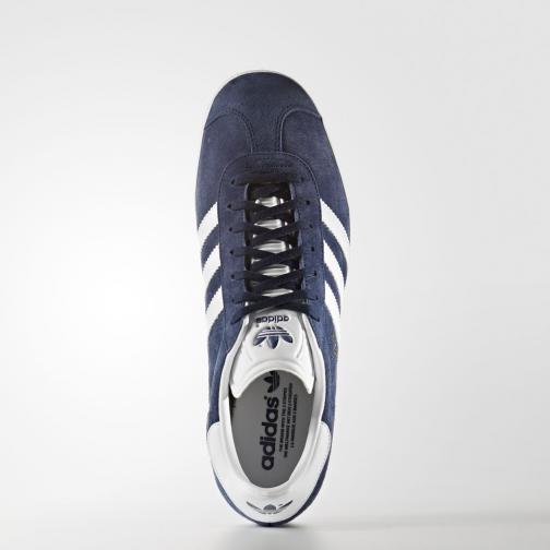 Adidas Originals Chaussures Gazelle collegiate navy/white/gold met Tifoshop