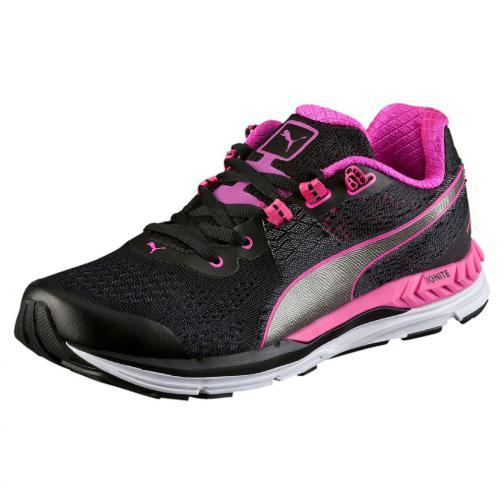 Puma Chaussures Speed 600 Ignite Wn  Femmes Puma Black-Pink Glo-Puma Aged Silver