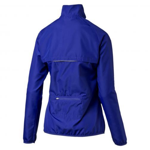 Puma Jacke Pe_running_wind Jkt W  Damenmode Royal Blue Tifoshop