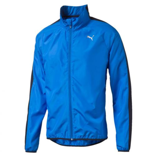 Puma Veste Pe_running_wind Jkt Electric Blue Lemonade-Peacoat