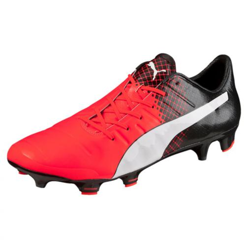 Evopower 1.3 Tricks Fg Red Blast-Puma White-Puma Black FIGC Store