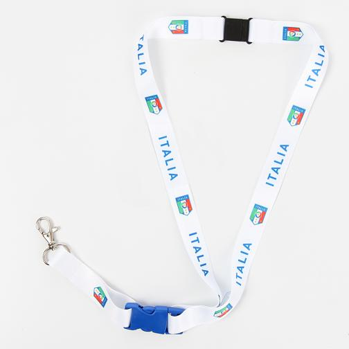 Portachiavi Italia Bianco FIGC Store