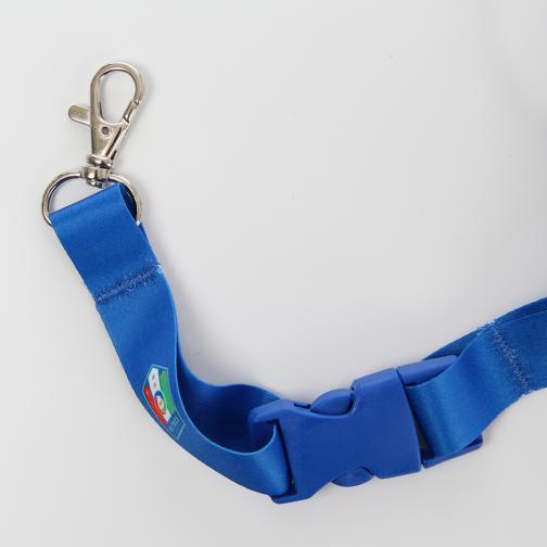 Italy Keyring Blue FIGC Store