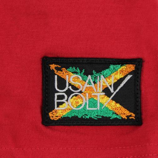 T-shirt Don't  Usain Bolt Rosso Vintage UsainBolt