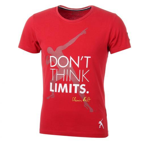 T-shirt Don't  Usain Bolt Rosso Vintage