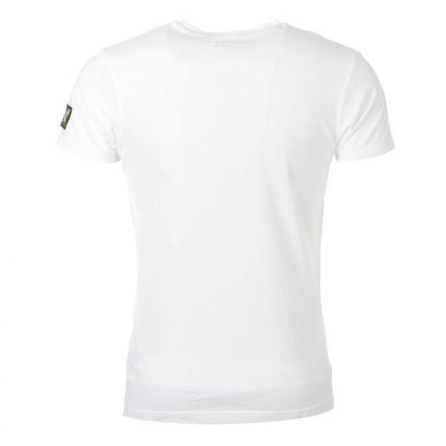 T-shirt  Usain Bolt Bianco Rosso UsainBolt