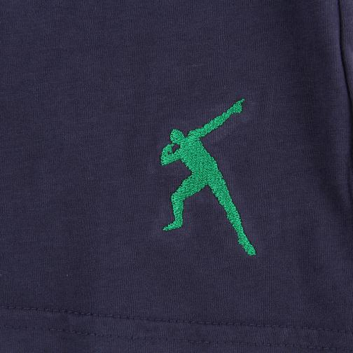 T-shirt Run  Usain Bolt Vintage Navy UsainBolt