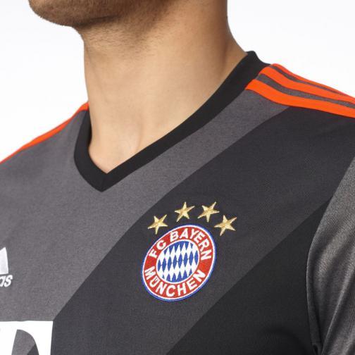 Adidas Maillot De Match Away Bayern Monaco   16/17 GRANIT Tifoshop