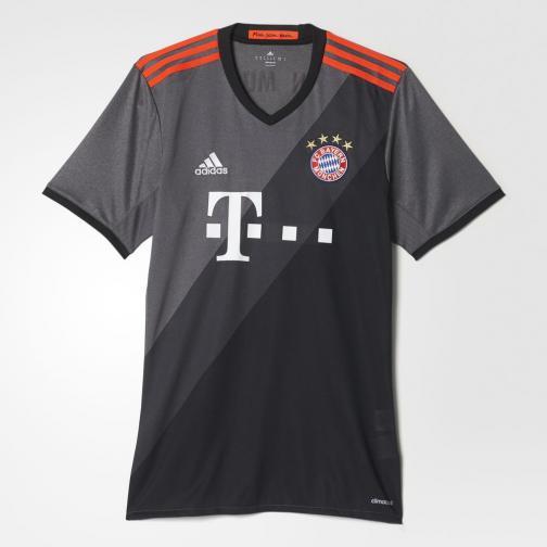 Adidas Maillot De Match Away Bayern Monaco   16/17 GRANIT