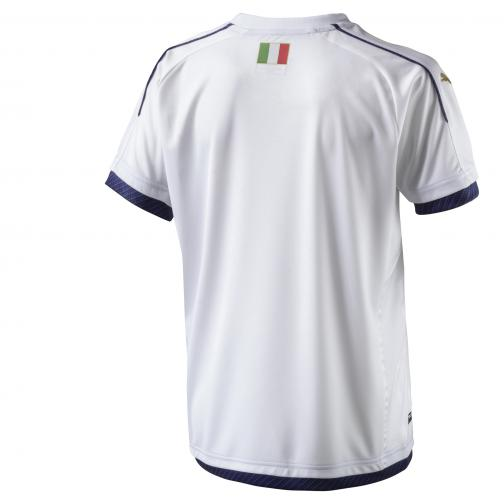 Puma Shirt Away Italy Juniormode  16/17 white-peacoat Tifoshop