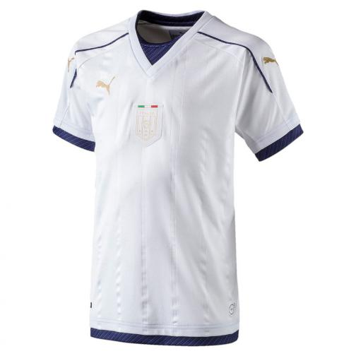 Puma Shirt Away Italy Juniormode  16/17 white-peacoat