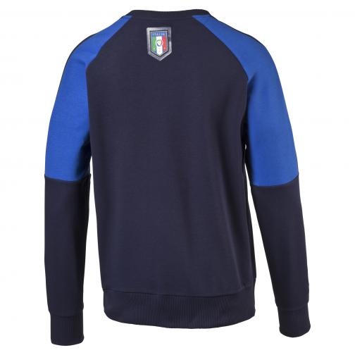 Figc Tribute 2006 Sweater peacoat-team power blue FIGC Store