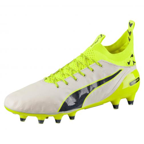 Puma Chaussures De Football Evotouch Pro Special Edt. Fg birch-peacoat-safety yellow