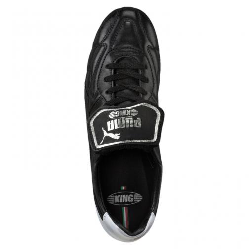 Puma Chaussures De Football King Top M.i.i Pl Fg Puma Black-Puma Black-Silver Tifoshop