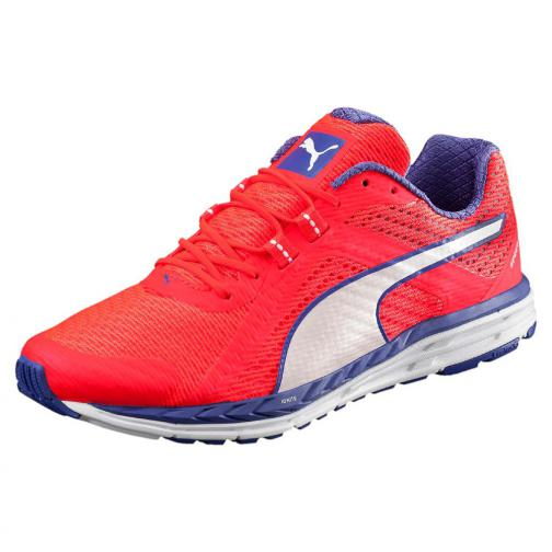 Puma Shoes Speed 500 Ignite Wn  Woman Red Blast-Royal Blue-Puma White