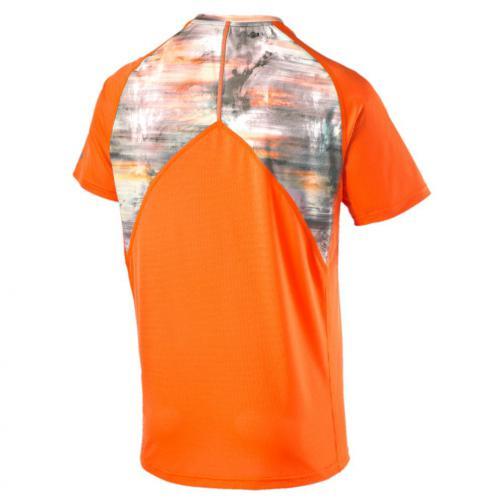 Puma T-shirt Graphic S/s Tee Arancione Tifoshop