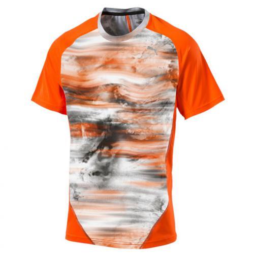 Puma T-shirt Graphic S/s Tee Arancione