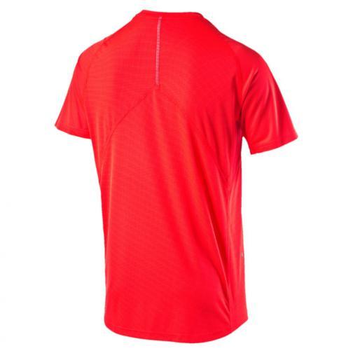 Puma T-shirt Run S/s Tee Red Blast Tifoshop