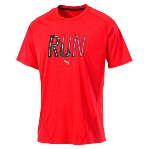Puma T-shirt Run S/s Tee Red Blast