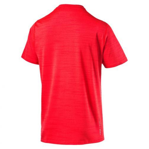 Puma T-shirt Nightcat S/s Tee Rosso UsainBolt