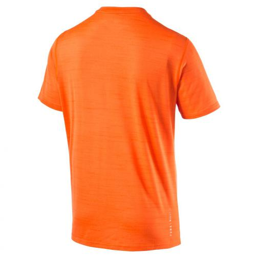 Puma T-shirt Nightcat S/s Tee Shocking Orange Heather Tifoshop