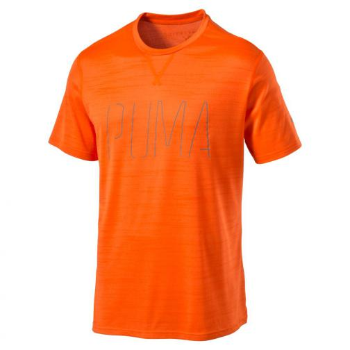 Puma T-shirt Nightcat S/s Tee Shocking Orange Heather