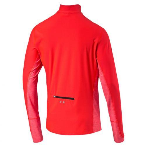 Puma Maillot L/s 1/2 Zip Top Red Blast Tifoshop