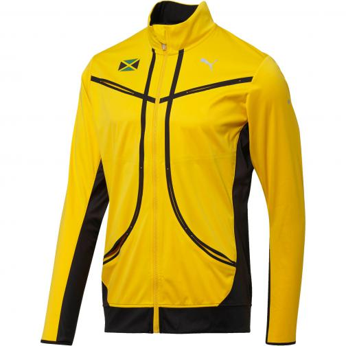 Puma Jacket Vent Thermo_r Runner Jkt Spectra Yellow-Puma Black-Jam