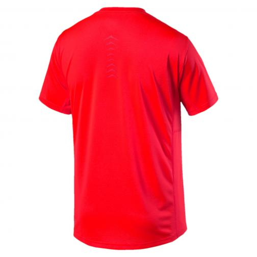 Puma T-shirt Vent Cat Tee Red Blast-Barbados Cherry Tifoshop