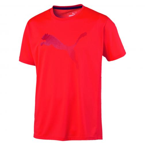 Puma T-shirt Vent Cat Tee Red Blast-Barbados Cherry