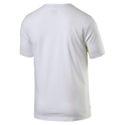 Puma T-shirt Ub Graphic Tee   Usain Bolt Puma White Tifoshop