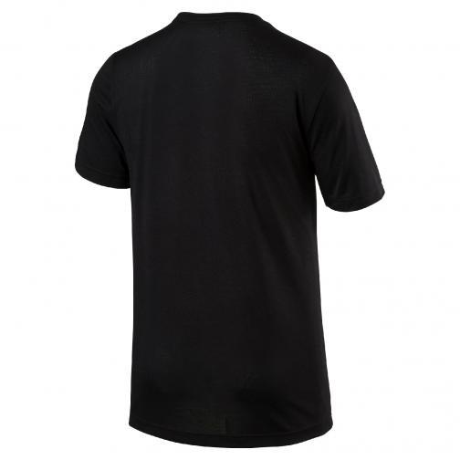 Puma T-shirt Ub Logo Tee  Usain Bolt Nero UsainBolt