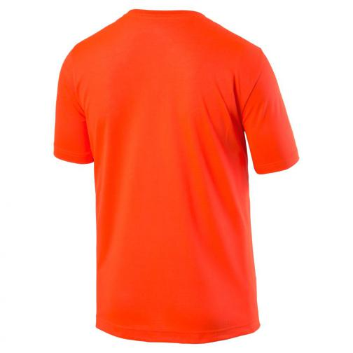 Puma T-shirt Ub Logo Tee   Usain Bolt Red Blast Tifoshop