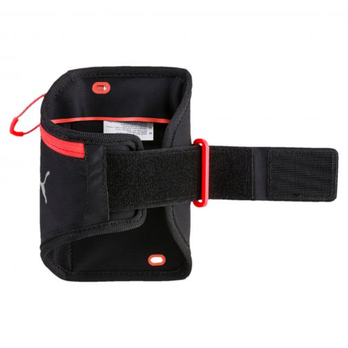Puma Sweat Band Pr I Sport Phone Armband Puma Black-Red Blast Tifoshop