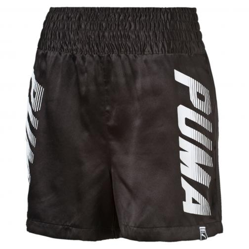 Puma Pantaloncino Speed Font Short  Donna Nero Tifoshop