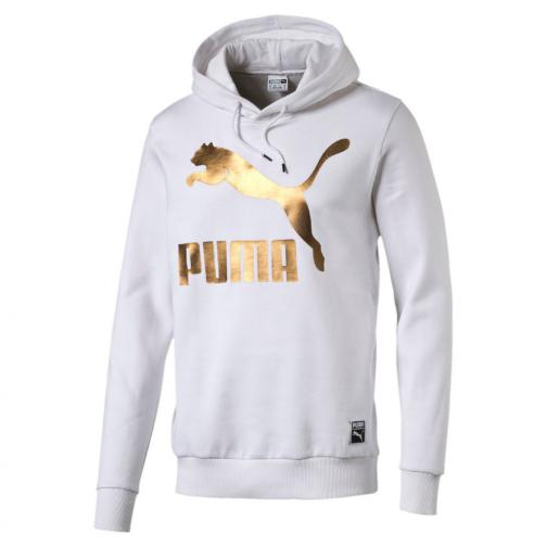 Puma Sweat Archive Logo Hoody Fl Puma White