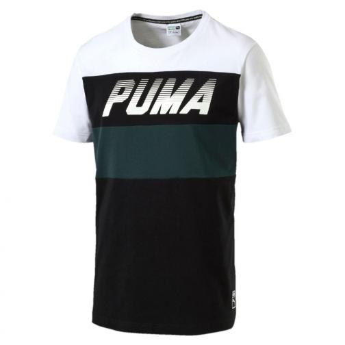 Puma T-shirt Speed Font Tee Puma White
