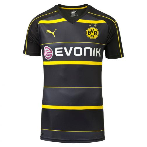 Puma Shirt Away Borussia Dortmund   16/17 black-cyber yellow