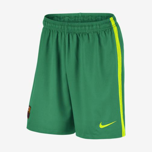 Nike Pantaloncini Gara Home & Away Barcellona   16/17 Verde