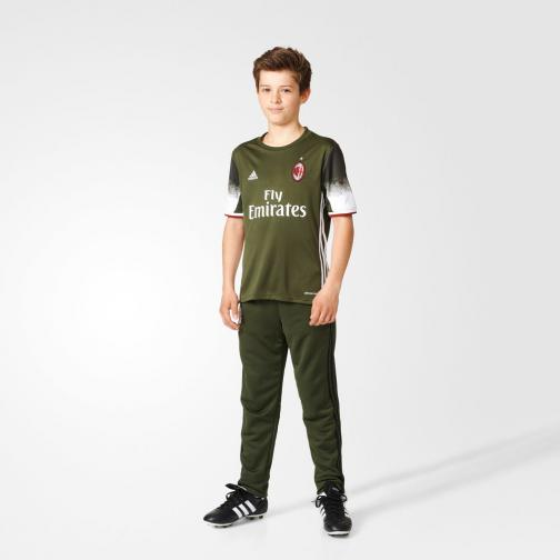 Adidas Shirt Drittel Milan Juniormode  16/17 night cargo f15/white Tifoshop