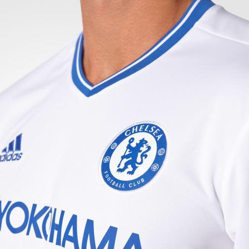 Adidas Shirt Drittel Chelsea   16/17 white/chelsea blue Tifoshop