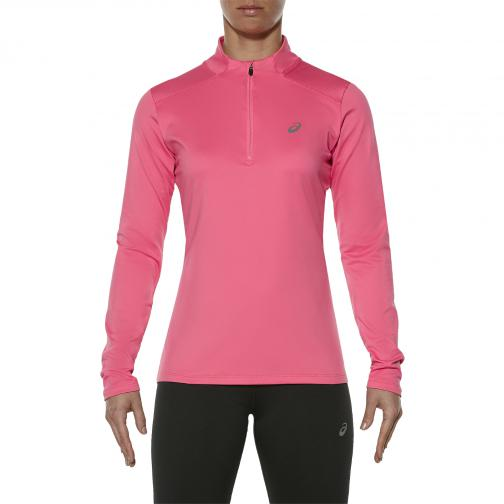Asics Trikot Ess Winter 1/2 Zip  Damenmode CAMELION ROSE