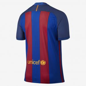 Nike Authentic Trikot Home Barcelona   16/17