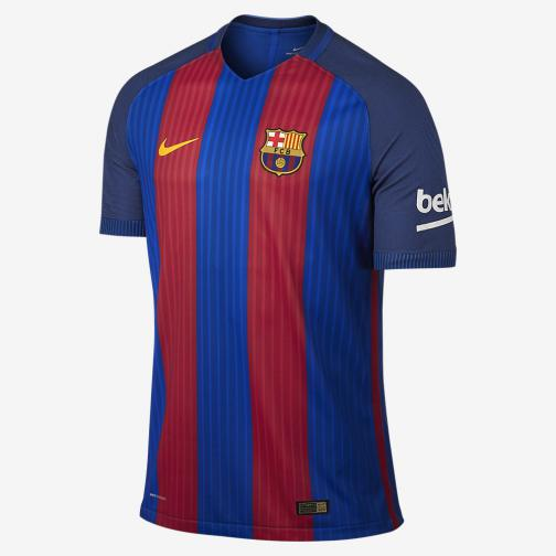 Nike Authentic Jersey Home Barcelona   16/17 Sport Royal/Gym Red/University Gold