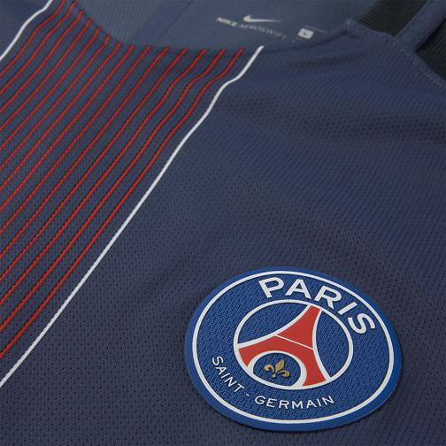 Nike Maglia Gara Authentic Home Paris Saint Germain   16/17 Blu Tifoshop