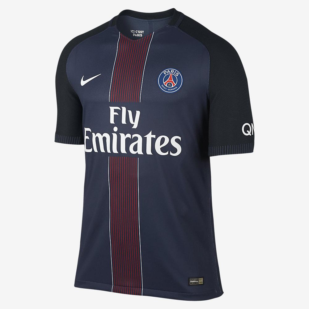 Nike Maglia Gara Authentic Home Paris Saint Germain   16/17