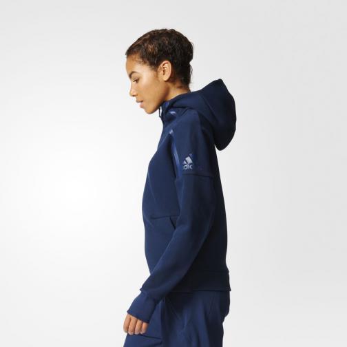 Adidas Sweatshirt Z.n.e. Hoody  Woman collegiate navy